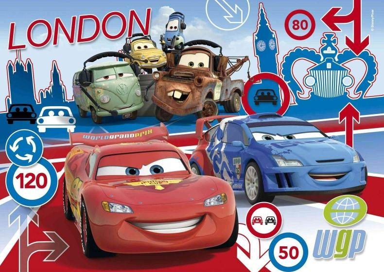 Deskové puzzle Clementoni - 15 dílků - CARS 2 22216d