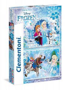 Dětské puzzle  2 x 20 dílků  - Frozen  24745