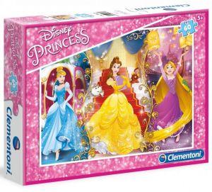 Dětské puzzle Clementoni  60 dílků  - Princezny  08430