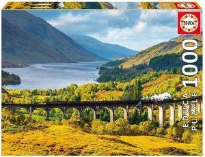 EDUCA Puzzle 1000 dílků  Glenfinnanský viadukt  -  16749
