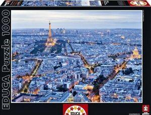EDUCA Puzzle 1000 dílků  Světla Paříže   16286