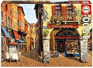 EDUCA Puzzle 1500 dílků   Barvy Itálie   16770