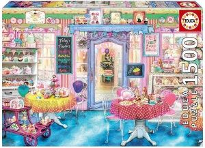 EDUCA Puzzle 1500 dílků   Cukrárna    16769