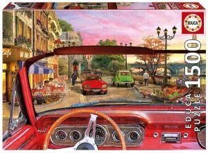 EDUCA Puzzle 1500 dílků   Paříž v autě    16768