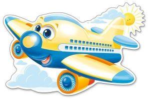 Puzzle Castorland 12 dílků MAXI - Letadlo  120031