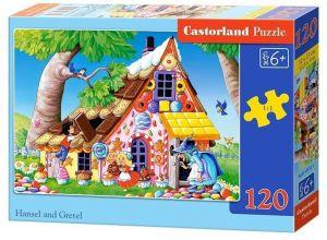 Puzzle Castorland 120 dílků - Jeníček a Mařenka 13333