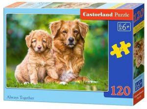 Puzzle Castorland 120 dílků - Pejsci  13265
