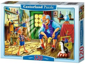 Puzzle Castorland 120 dílků - Pinokio 12787