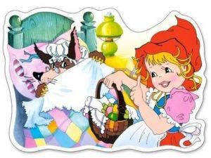Puzzle Castorland 15 dílků MAXI - Červená Karkulka  015030