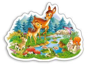 Puzzle Castorland 15 dílků MAXI - Koloušci 015115