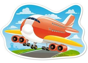 Puzzle Castorland 15 dílků MAXI - Letadlo  015146