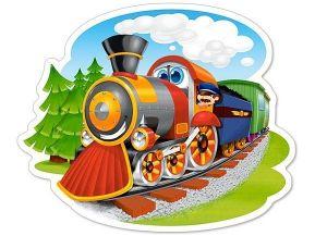Puzzle Castorland 15 dílků MAXI -  Parní vlak  015153