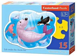 Puzzle Castorland 15 dílků MAXI -  Pod vodou  015139