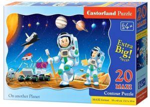 Puzzle Castorland 20 dílků podlahové - MAXI - Na jiné planetě 02344