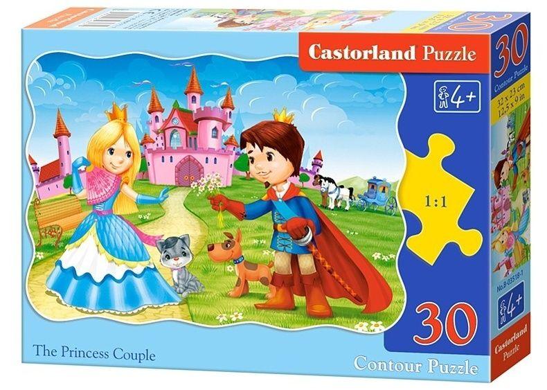 Puzzle Castorland 30 dílků - Princ s princeznou 03518