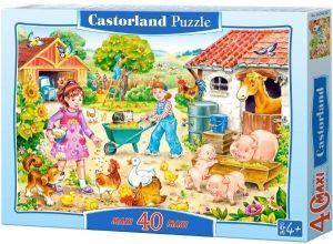 Puzzle Castorland 40 dílků MAXI - Na farmě  040087