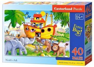 Puzzle Castorland 40 dílků MAXI - Noemova Archa 040209