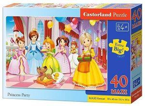 Puzzle Castorland 40 dílků MAXI - Princezny  040162