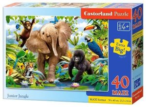 Puzzle Castorland 40 dílků MAXI - Safari  040124