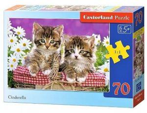 Puzzle Castorland 70 dílků - Koťata   007158