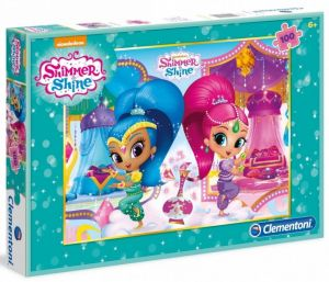 Puzzle Clementoni 100 dílků  - Shimmer a Shine  - 07256