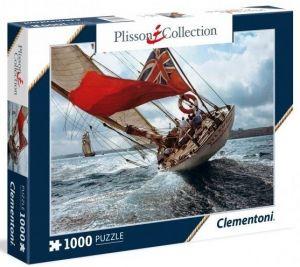 Puzzle Clementoni 1000 dílků - Plachetnice - Velsheda  39389