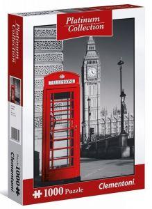 Puzzle Clementoni 1000 dílků - Platinum Coll  - Londýn  39397