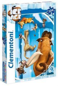 Puzzle Clementoni 104 dílků  - Doba ledová 27990