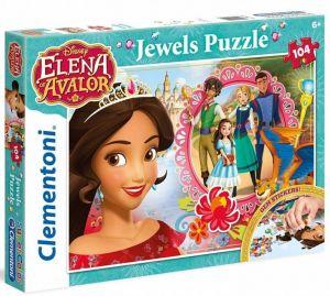 Puzzle Clementoni 104 dílků jewels   -  Elena z Avaloru  - 20142