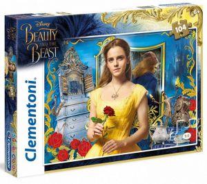 Puzzle Clementoni 104 dílků  -  Kráska a zvíře 27989