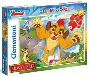 Puzzle Clementoni 104 dílků  - Lví hlídka  27986