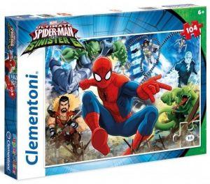 Puzzle Clementoni 104 dílků  - Spiderman 27988