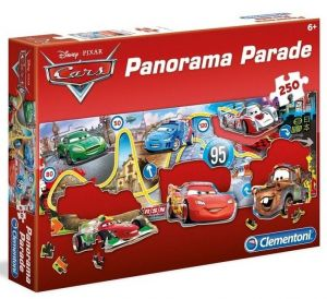 Puzzle Clementoni 250 dílků - Panorama -  CARS  98538