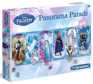 Puzzle Clementoni 250 dílků - Panorama -  Frozen  98539