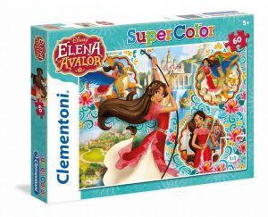 Puzzle Clementoni - 60 dílků  -  Elena z Avaloru  26970