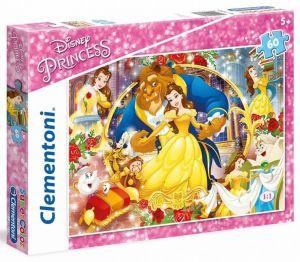 Puzzle Clementoni - 60 dílků  -  Kráska a zvíře   26966