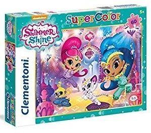 Puzzle Clementoni - 60 dílků  -  Shimmer a  Shine  26969