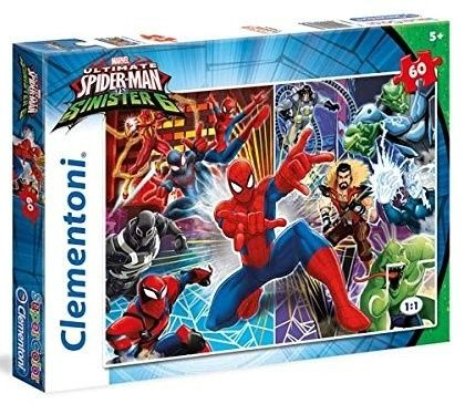 Puzzle Clementoni - 60 dílků - Spiderman 26967