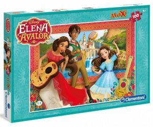 Puzzle Clementoni  MAXI  - 100 dílků  -  Elena z Avaloru   07528