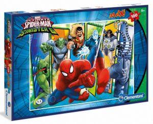 Puzzle Clementoni  MAXI  - 100 dílků  -  Spiderman  07530