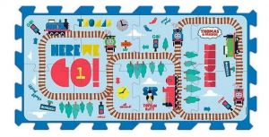 Trefl - pěnové puzzle - koberec - Mašinka Tomáš 60466