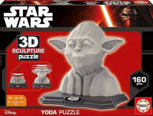 3D puzzle Educa 16501 - Yoda    Star Wars   160 dílů