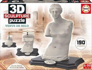 3D puzzle Educa 16504 - Venuše Mělská   190 dílů