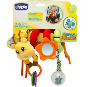 Chicco - hračka na kočárek - žirafa