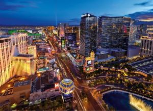 Clementoni puzzle 1000 dílků Virtual Reality- Las Vegas 39404