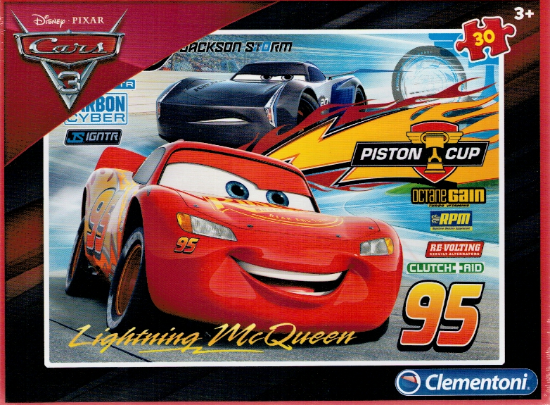 Clementoni puzzle 30 dílků - Cars 3 08513
