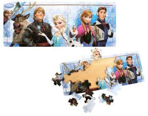 Dřevěné puzzle PLAYME - Frozen  21 dílků