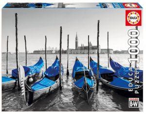 EDUCA Puzzle 1000 dílků - Gondoly v Benátkách   17112