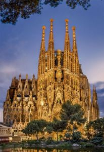 EDUCA Puzzle 1000 dílků Sagrada Familia - 17097