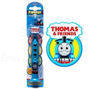 Mašinka Tomáš - zubní kartáček s tříbarevným časovačem
